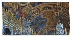 Hall Of Mirrors - Versaille Beach Towel