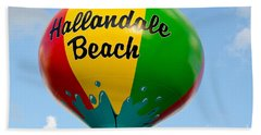 Hallendale Beach Water Tower Beach Sheet