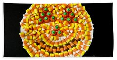 Halloween Candy Beach Towel