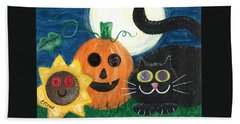 Halloween Fun Beach Sheet