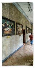 Hallway Of Paintings Beach Towel