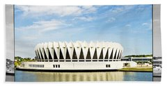Hampton Coliseum Beach Towel