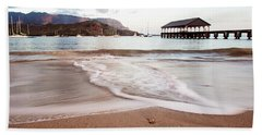 Hanalei Dawn - Kauai, Hawaii Beach Towel by Melanie Alexandra Price