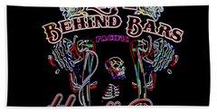 Handle Bars In Neon Beach Towel