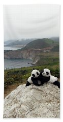 Beach Towel featuring the photograph Hang On- You Got A Friend by Ausra Huntington nee Paulauskaite