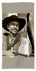 Hank Worden Publicity Photo Red River 1948-2013 Beach Towel