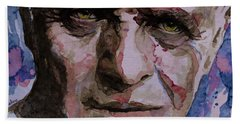 Beach Towel featuring the painting Hannibal by Laur Iduc