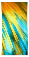 Happy Together Right Side Beach Towel by Dazzle Zazz