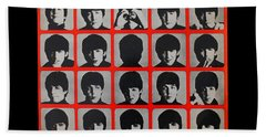 Hard Days Night Beach Towel