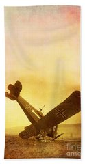 Hard Landing Beach Towel