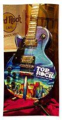Hard Rock Electric Guitar Beach Sheet