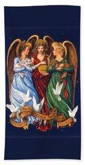 Hark The Herald Angels Sing Beach Towel
