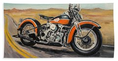 Harley Davidson 1946 Beach Sheet
