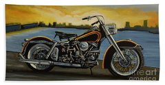 Harley Davidson Duo Glide Beach Sheet
