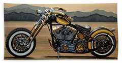 Harley Davidson Beach Sheet
