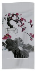 Harmony And Beauty Beach Towel by Yufeng Wang