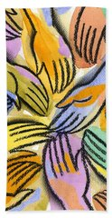 Multi-ethnic Harmony Beach Towel