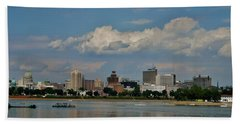Harrisburg Skyline Beach Towel
