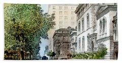 Harrison Residence East Rittenhouse Square Philadelphia C 1890 Beach Towel