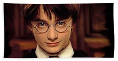 Harry Potter Beach Towel by Paul Tagliamonte