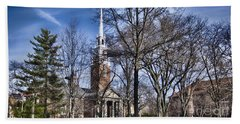 Harvard University Old Yard Church Beach Sheet