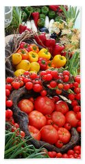 Harvest Bounty Beach Towel
