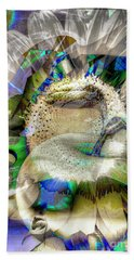 Beach Towel featuring the digital art Harvest by Eleni Mac Synodinos