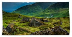 Hatcher's Pass  Beach Towel