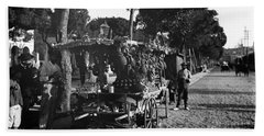 Havana Vendors, C1903 Beach Towel