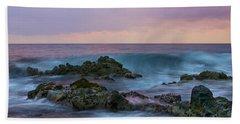 Hawaiian Waves At Sunset Beach Sheet