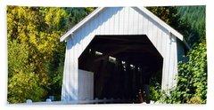 Hayden Covered Bridge Beach Sheet