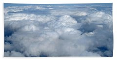 Head In The Clouds Art Prints Beach Towel