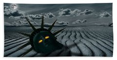 End Of Days Beach Towels