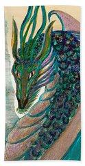 Healing Dragon Beach Sheet by Michele Avanti