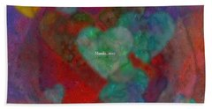 Heart Glow Beach Sheet