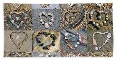Heart Of Hearts Beach Sheet