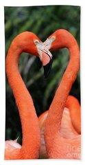 Heart To Heart Flamingo's Beach Sheet