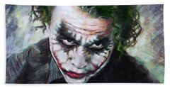 Heath Ledger The Dark Knight Beach Towel