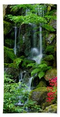 Heavenly Falls Serenity Beach Sheet by Don Schwartz