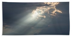 Heavenly Rays Beach Towel
