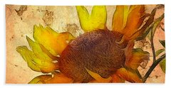 Helianthus Beach Towel