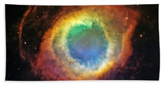 Helix Nebula 2 Beach Towel