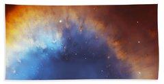Helix Nebula Close Up Beach Towel