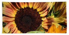 Here Comes The Sun Beach Towel by Robert McCubbin