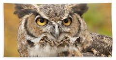 Here's Looking At You Beach Towel by Carol Lynn Coronios