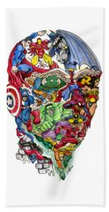 Heroic Mind Beach Towel