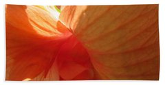 Hibiscus Butterfly Beach Towel