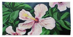 Hibiscus No. 1 Beach Towel