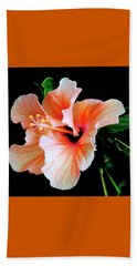 Hibiscus Spectacular Beach Sheet by Ben and Raisa Gertsberg