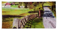 Hidden Brook Farm Beach Towel